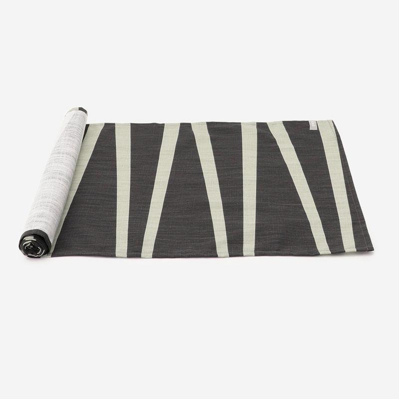 OPALテーブルランナー 42×150cm グラファイト