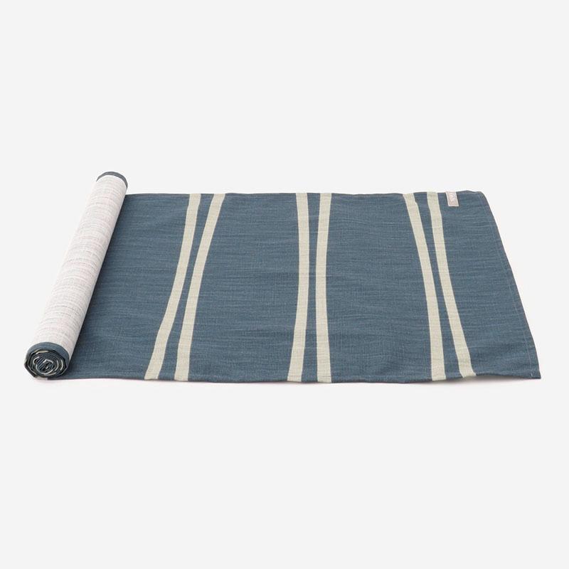 OPALテーブルランナー 42×150cm ダスティーブルー