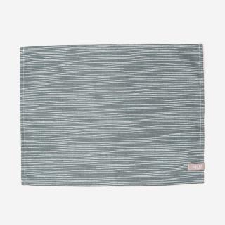 spira LINEテーブルマット 42×32cm ダスティーブルー