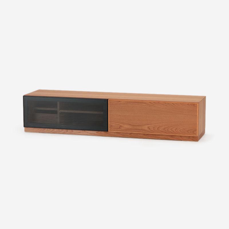 SHINE TVボード チェリー W176