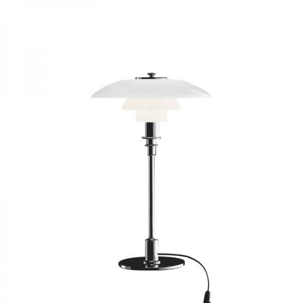 Louis Poulsen PH 3/2 TABLE LAMP SILVER