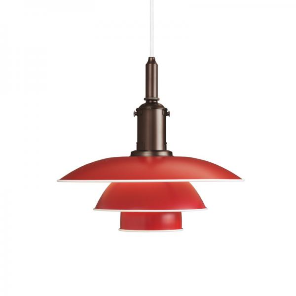 Louis Poulsen PH3 1/2-3 PENDANT LAMP レッド
