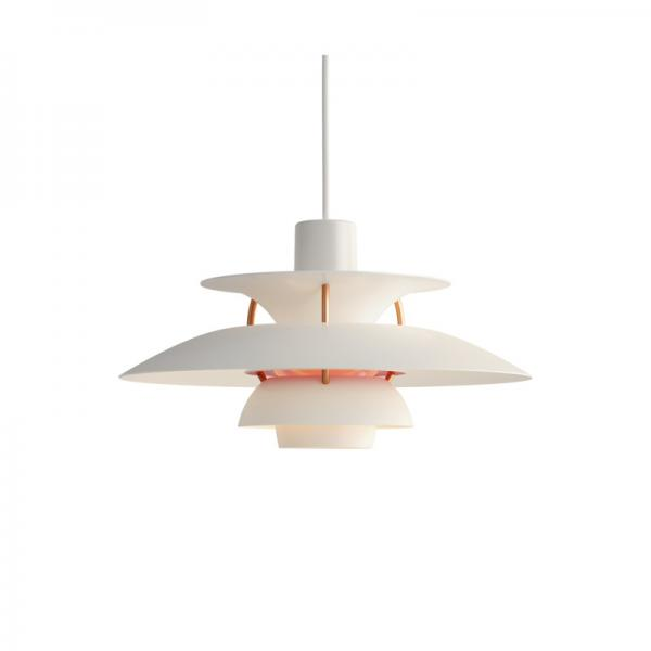 Louis Poulsen PH5 MINI PENDANT MODERN WHITE