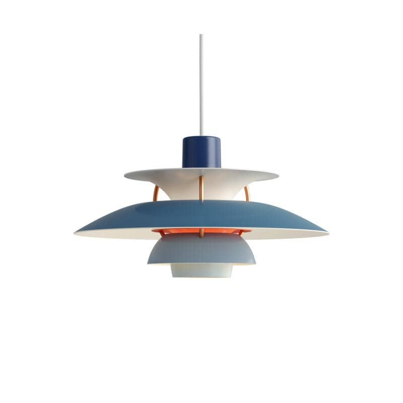 Louis Poulsen PH5 MINI PENDANT BLUE