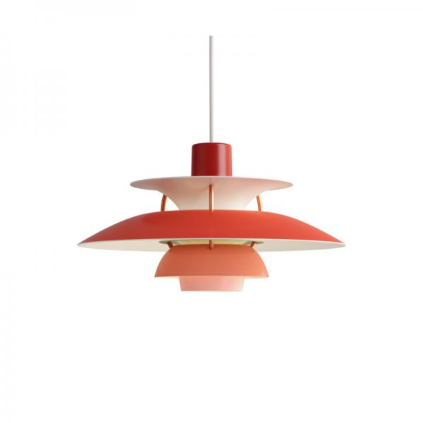 Louis Poulsen PH5 MINI PENDANT RED