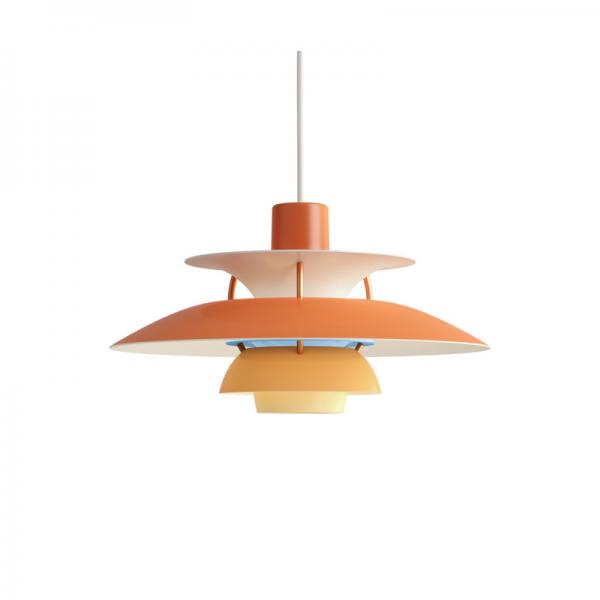Louis Poulsen PH5 MINI PENDANT ORANGE
