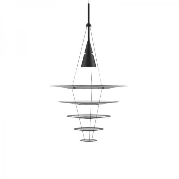 【8月中旬頃お届け】Louis Poulsen ENIGMA 545 PENDANT LAMP ブラック