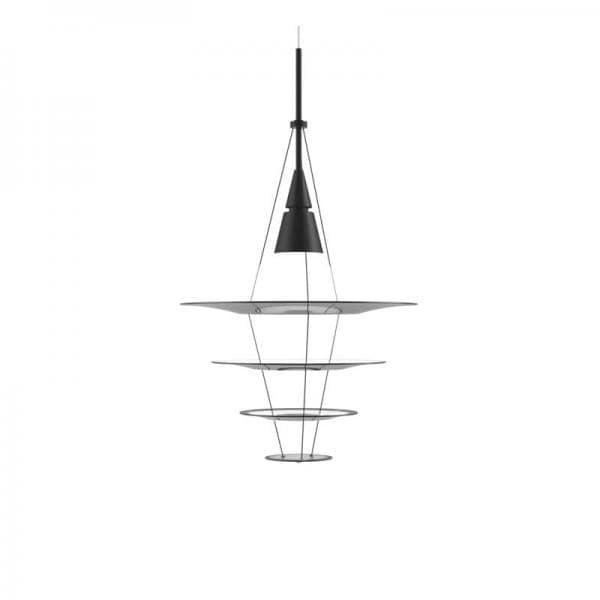 【5月中旬頃お届け】Louis Poulsen ENIGMA 425 PENDANT LAMP ブラック