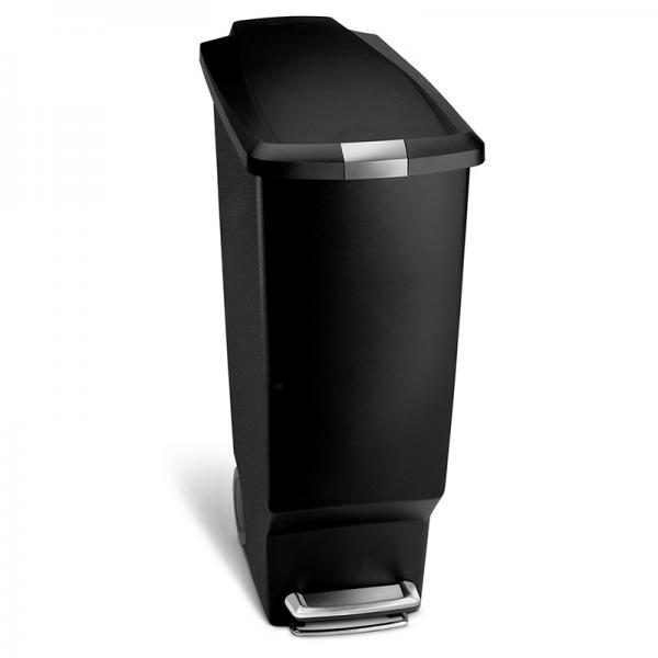 simplehuman スリムステップカン 40L ブラック