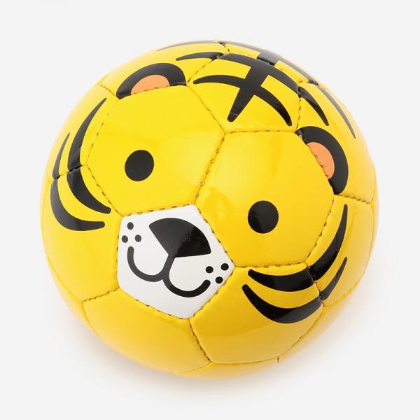 Football zoo トラ ミニボール1号球(直径約15cm)
