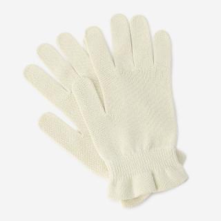 SASAWASHI おやすみ手袋 オフホワイト