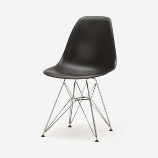 Herman Miller EAMES SHELL チェア BLACK/WIRE BASE