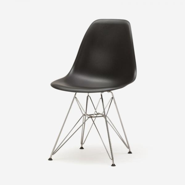 HermanMiiior EAMES SHELL チェア BLACK/WIRE BASE