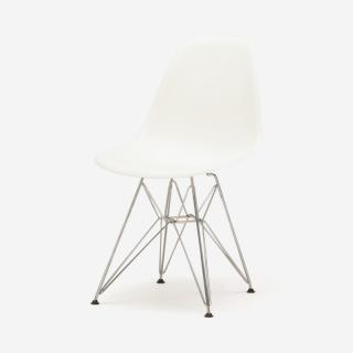 Herman Miller EAMES SHELL チェア WHITE/WIRE BASE