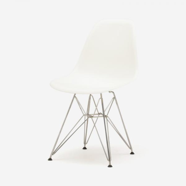 HermanMiiior EAMES SHELL チェア WHITE/WIRE BASE