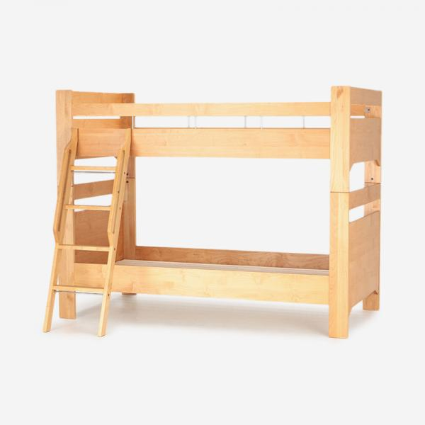 REVE 2段ベッド 突板スノコタイプ