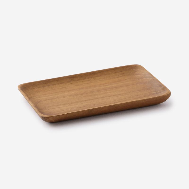 Teak Wood トレー 15.2×10.2cm