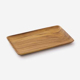 Teak Wood トレー 25×14.5cm