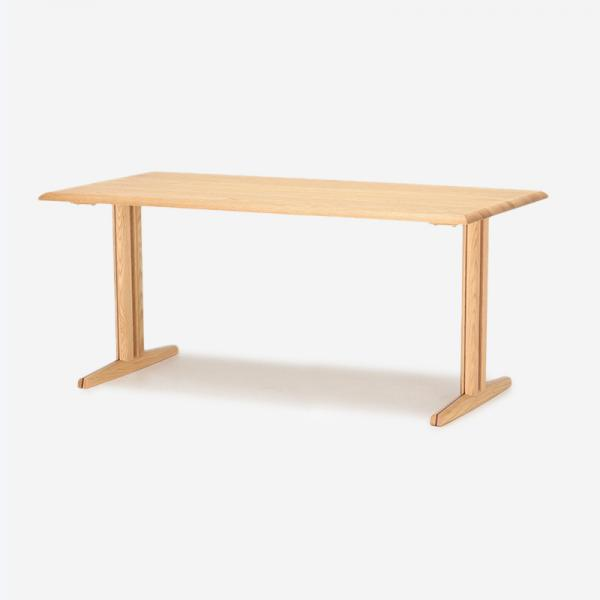LINK ダイニングテーブル 2レッグ W165