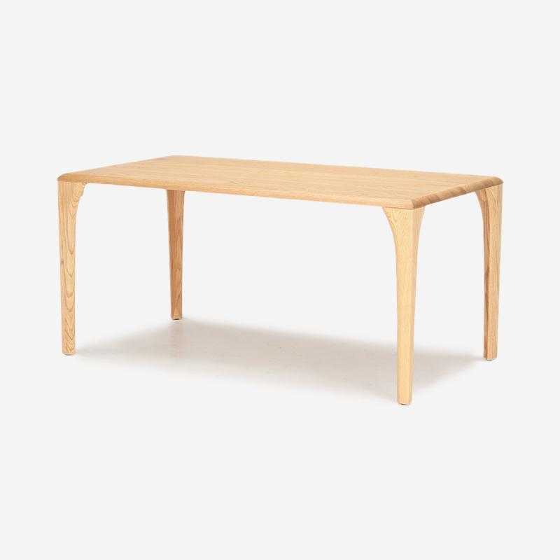LINK ダイニングテーブル 4レッグ W165