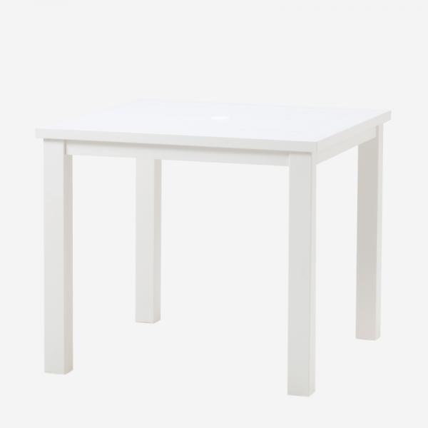 LUNA SQUARE TABLE WHITE