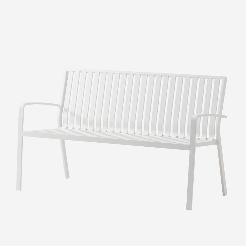 LUNA BENCH WHITE