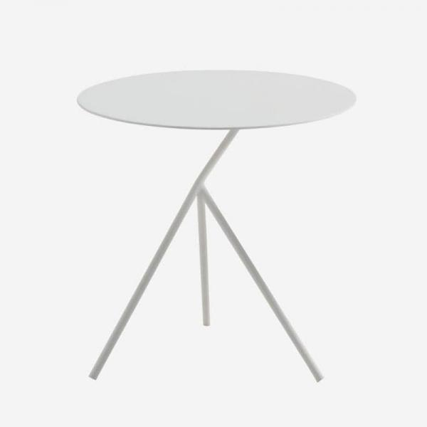 LUNA SIDE TABLE  WHITE