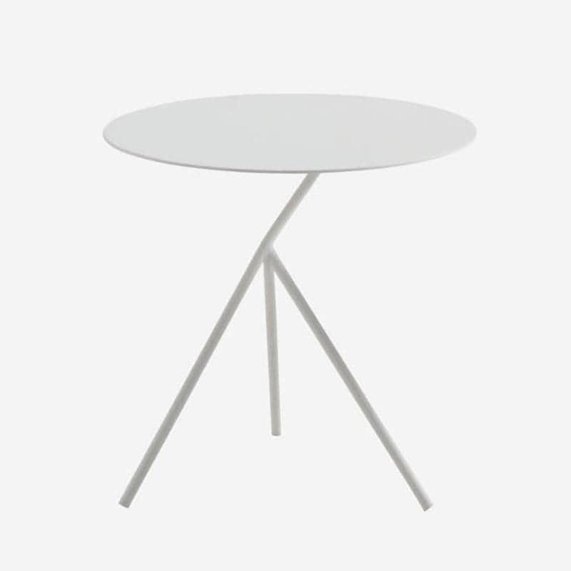 LUNA SIDE TABLE  WHITE
