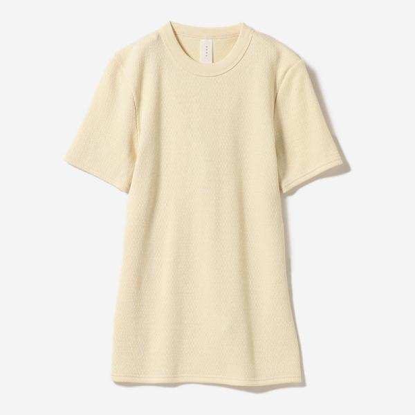 ORGANIC COTTON T-SHIRT ECRU/womens