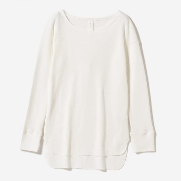 ORGANIC COTTON LONG SHIRT HAKU/womens