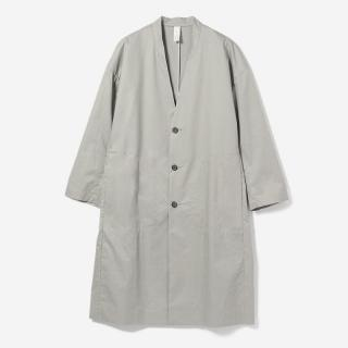 eauk STITCHED CT COAT SILVER/unisex