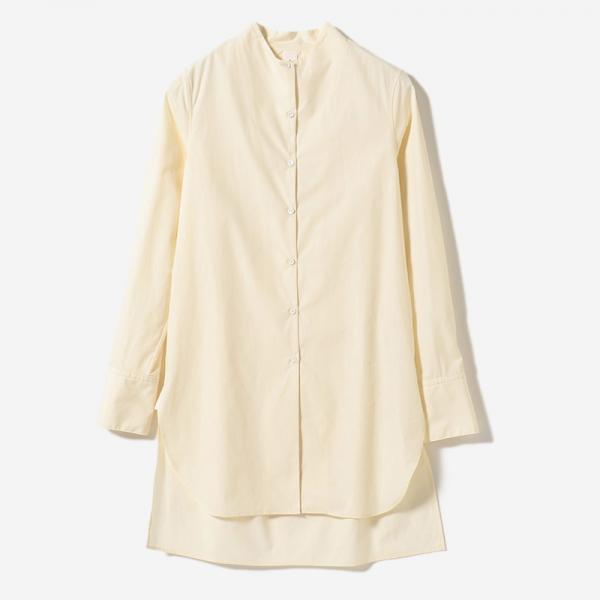 PLANE LONG SHIRT ECRU/womens