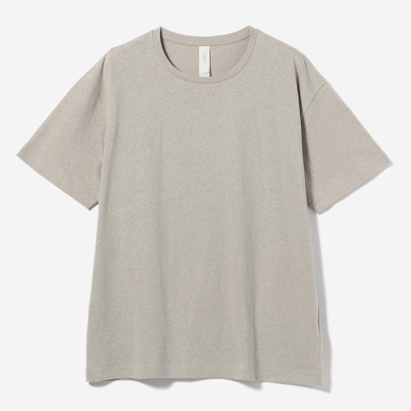 eauk LOOSE FIT T-SHIRT GREIGE/mens