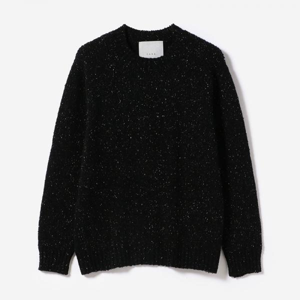 eauk NEP YARN SIMPLE SWEATER GEN/unisex