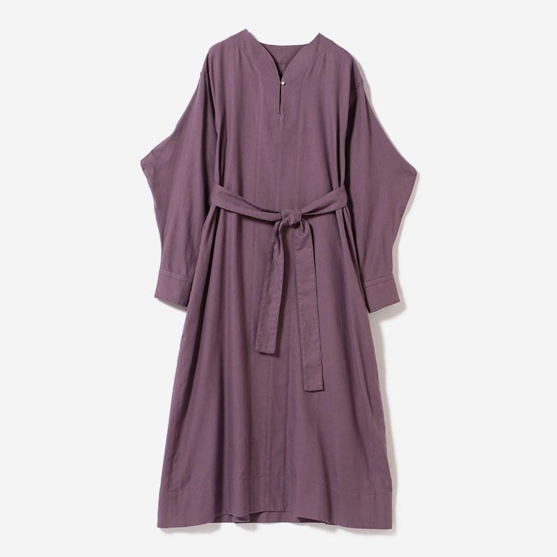 BELTED SHIRT DRESS BK PLUM/womens