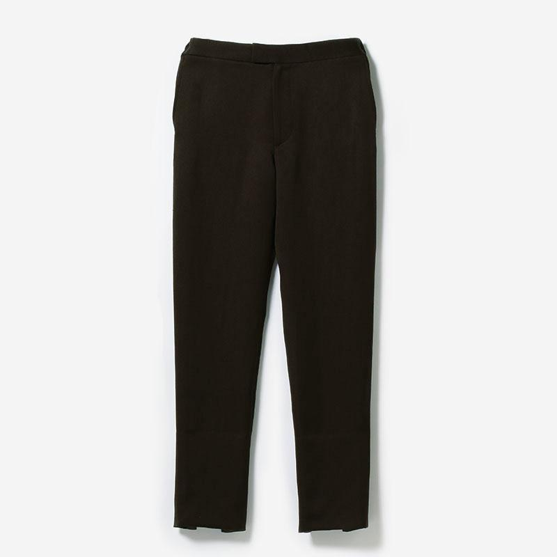 eauk WO/LI STRAIGHT PANTS BR/womens