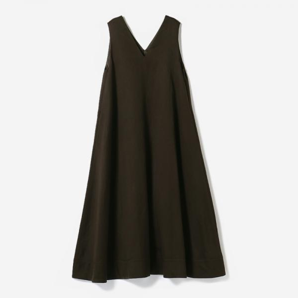 eauk WO/LI A-LINE DRESS BR/womens