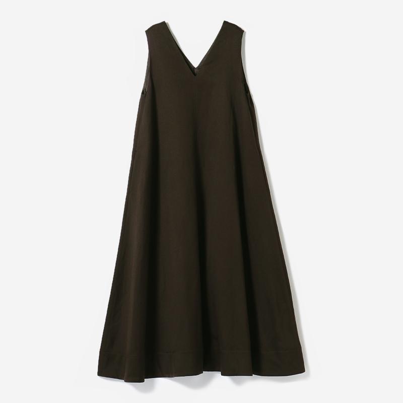eauk WO/LI A-LINE DRESS BR/womens