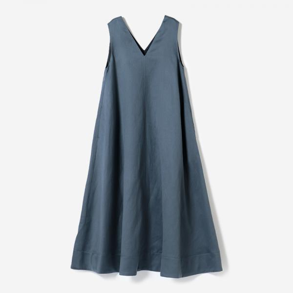 eauk WO/LI A-LINE DRESS FOG/womens