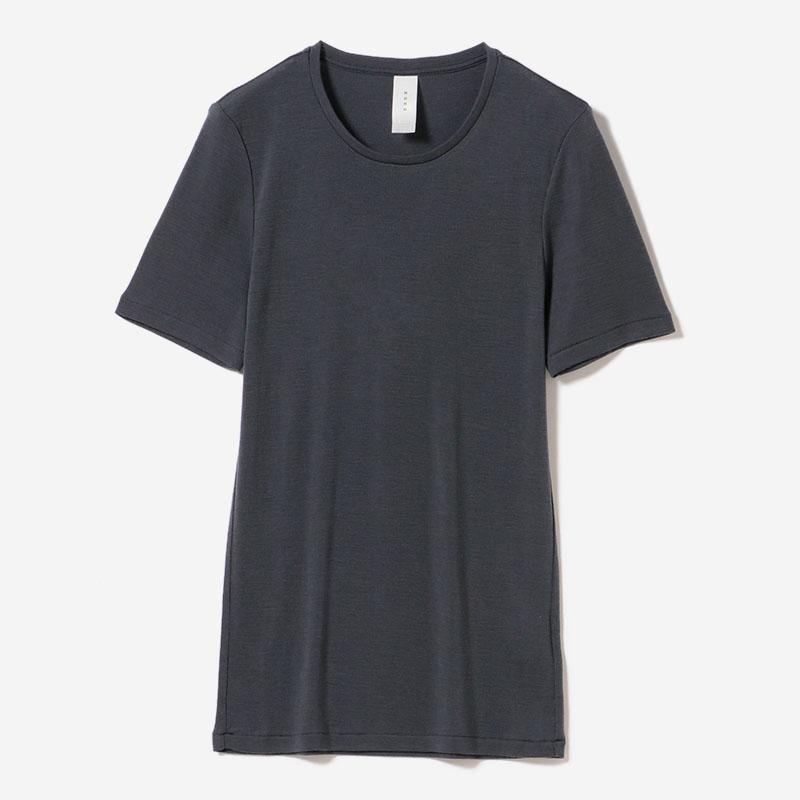 WASHABLE WOOL T-SHIRT FOG/womens