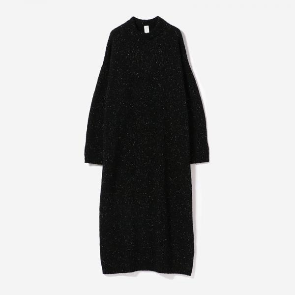 eauk NEP YARN KNIT DRESS GEN/womens