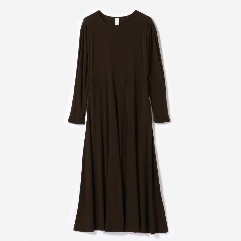 eauk WASHABLE WOOL DRESS BR/womens