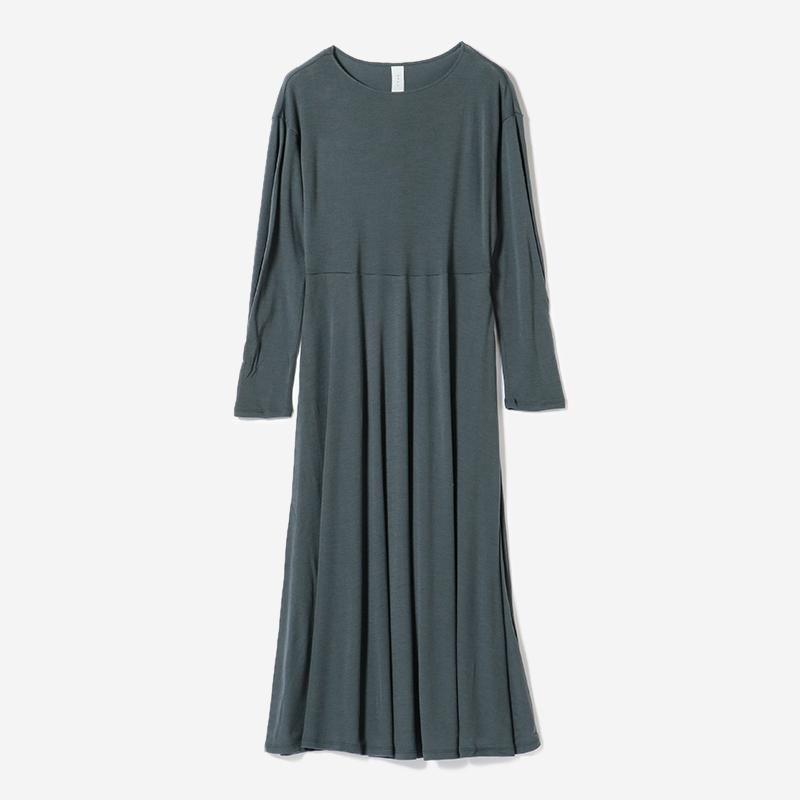 eauk WASHABLE WOOL DRESS FOG/womens