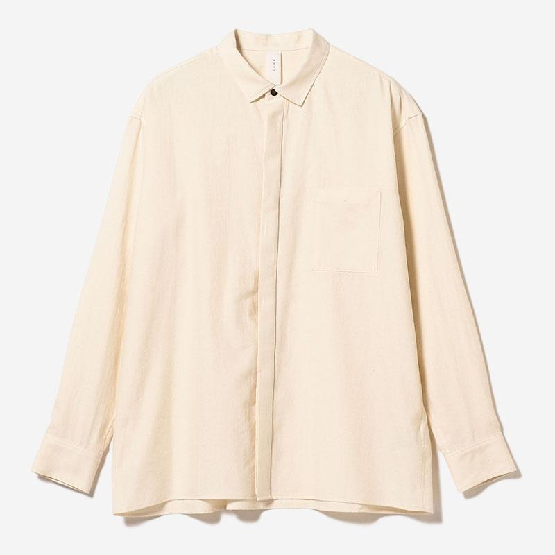 ORGANIC SOFT SHIRT ECRU/mens