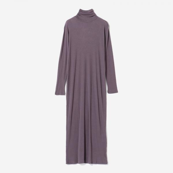 eauk TURTLE DRESS BK PLUM/womens