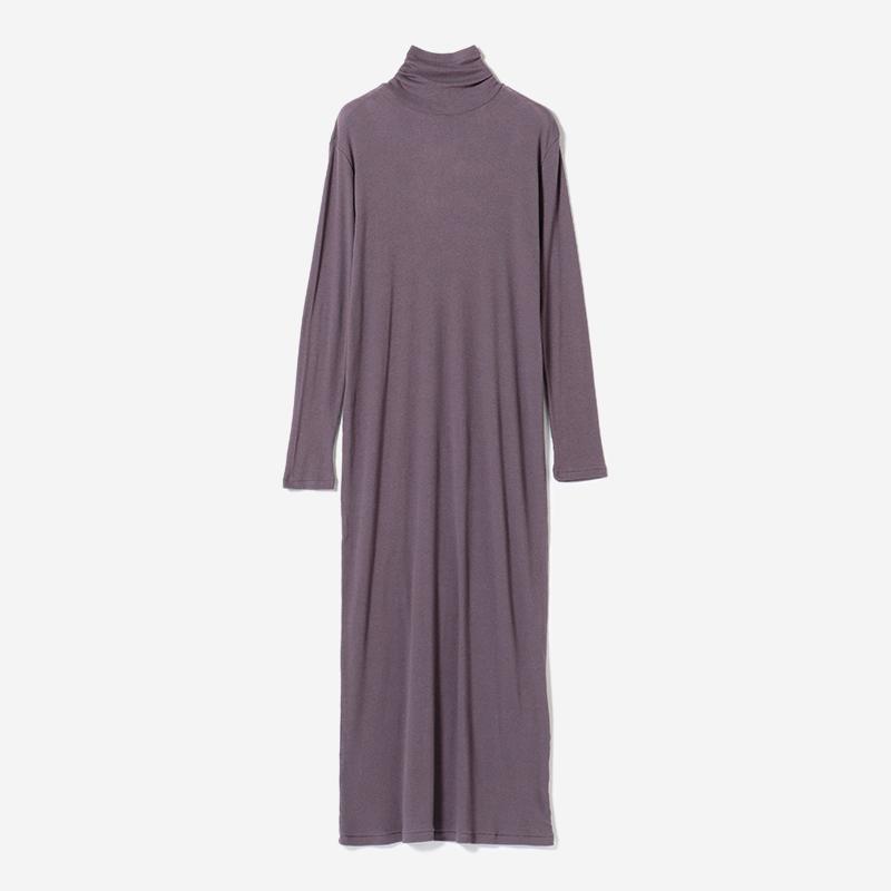 eauk TURTLE DRESS BK PLUM/womens