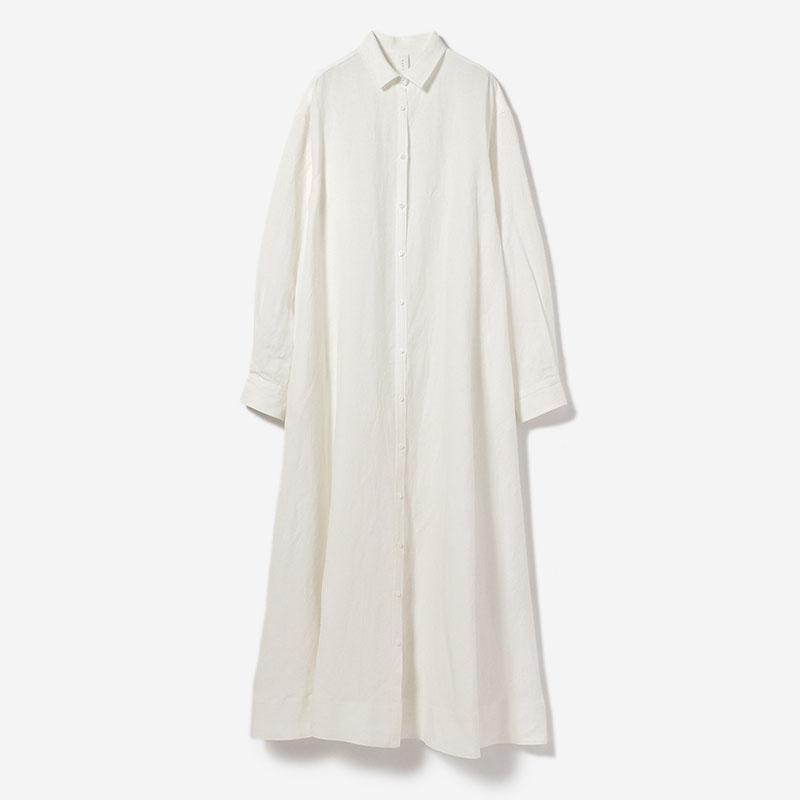 ROBE SHIRT DRESS HAKU/womens