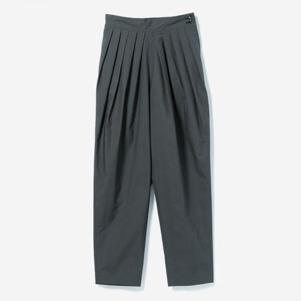 ELASTIC TUCK PANTS NIBI/womens
