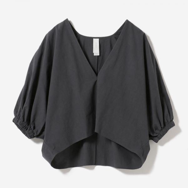VOLUME SLEEVE BLOUSE INKBK/womens