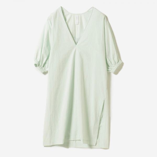 VOLUME SLEEVE DRESS MINT/womens